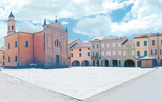piazza a castelnovo